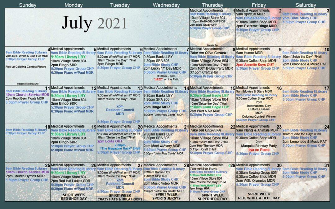 July 2021.